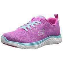 Skechers Valeris, Damen Sneakers, Pink (PKLB), 39 EU