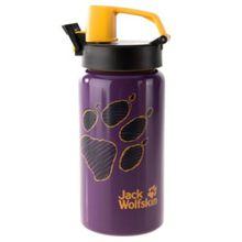 JACK WOLFSKIN Kinder Trinkflasche SPORT BOTTLE 0,5L lila