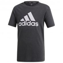 adidas - Boy's Prime Tee - Funktionsshirt Gr 116 schwarz