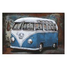 Bild Bus in Blau