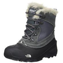 The North Face Shellista Extreme, Unisex-Kinder Schneestiefel, Mehrfarbig (Zinc Grey/TNF White), 35 EU