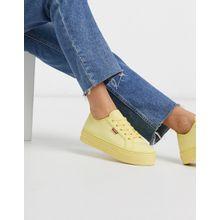Levi's – Flatform Sneaker-Gelb