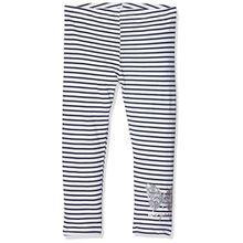 Desigual Mädchen Leggings, LEGGING_ARAZA, Gr. 3-4 Jahre (Herstellergröße: S), Blau (Navy 5000)