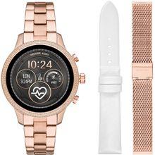 MICHAEL KORS ACCESS RUNWAY, MKT5060 Smartwatch (1.19 Zoll, Wear OS by Google, mit 2 Wechselbändern, inkl. Dornschließe für Wechselband)