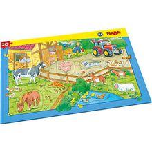 Rahmenpuzzle 10 Teile - Bauernhof