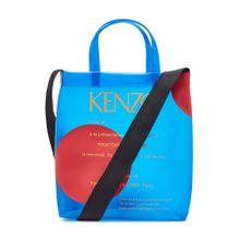 Kenzo Transparenter Logo-Shopper