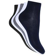 oodji Ultra Damen Socken (5er-Pack), Mehrfarbig, DE 35-37 / S