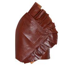 Minirock aus Leder