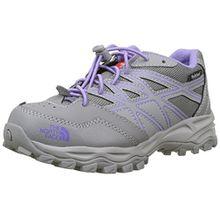 The North Face Unisex-Kinder Hedgehog Hiker Waterproof Trekking-& Wanderhalbschuhe, Mehrfarbig (Quick Silver Grey/Purple), 37 EU