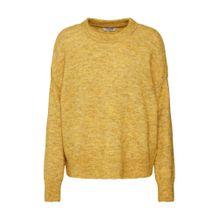 PIECES Pullover goldgelb