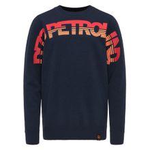 Petrol Industries Sweatshirt blau