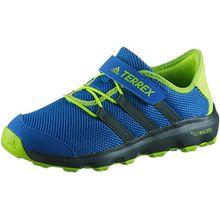 adidas Unisex-Kinder Sneaker Terrex CC Voyage Trekking-& Wanderhalbschuhe, Blau (Belazu/Carbon/Solsli 000), 31 EU