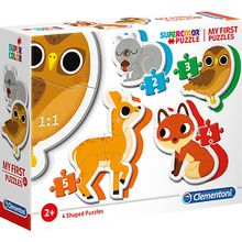 My frist Puzzles 2/3/4/5 Teile - Waldtiere