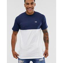 Vans - Weißes T-Shirt mit Farbblockdesign - Weiß