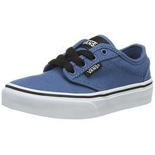 Vans Unisex-Kinder Atwood Sneaker, Blau (Canvas), 38.5 EU