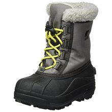 Sorel Unisex-Kinder Schneestiefel Childrens Cumberland, Grau (City Grey 023City Grey 023), Gr. 25 (UK 7)