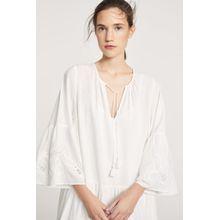 CLOSED Bohemian Dress white