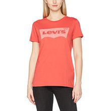 Levi's Damen T-Shirt The Perfect Tee, Mehrfarbig/Better Batwing PFD Poinsettia 0311, X-Small