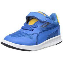 Puma Unisex-Kinder Icra Evo V Inf Low-Top, Blau (French Blue-French Blue 04), 27 EU