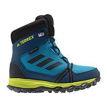 adidas Unisex-Kinder Terrex Snow CP CW K Trekking-& Wanderstiefel, Verschiedene Farben (Petmis/Negbas/Azunoc), 38 2/3 EU