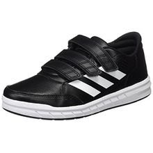 adidas Unisex-Kinder AltaSport Sneakers, Schwarz (Core Black/Footwear White), 34 EU