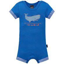 Schiesser Baby - Jungen Body Baby Spieler 1/2, Gr. 62, Blau (blau 800)