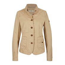 camel active Damen 5-Knopf-Blazer beige 342015 5Z36 Größe 38