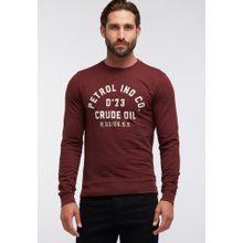 Petrol Industries Sweater burgunder