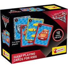 Große Spielkarten - Cars 3