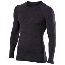 Falke - Wool-Tech Longsleeved Shirt - Merinounterwäsche Gr XL;XXL blau;schwarz;grau