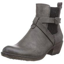 Rieker 93794, Damen Chelsea Boots, Grau (fumo/45), 38 EU (5 Damen UK)