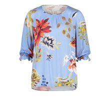 Betty Barclay Schlupfbluse mit Blumenprint blau Damen