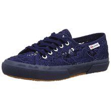 Superga Unisex Kinder 2750 Macramej Sneakers, Blau (Blue Navy), 30 EU