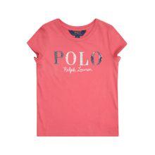POLO RALPH LAUREN Shirt 'SS POLO TEE-TOPS-KNIT' mischfarben / pink