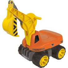 Power Worker Maxi Digger Schaufelbagger orange/gelb