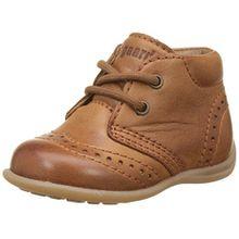 Bisgaard Unisex Baby Lauflernschuhe Sneaker, Braun (66 Cognac), 20 EU