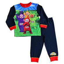 ThePyjamaFactory Jungen Schlafanzug blau blau Gr. 18-24 Monate, blau