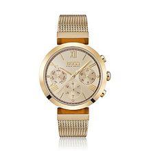 Multieye-Uhr aus beschichtetem Edelstahl mit Quarz-Werk
