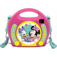 Minnie Kinder CD-Player mit 2 Mikrofonen