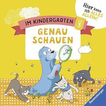 Buch - Im Kindergarten: Genau schauen