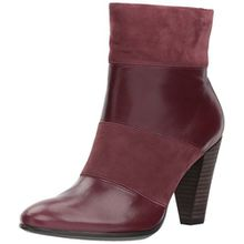 Ecco Damen Shape 75 Stiefel, Rot (Bordeaux/Bordeaux), 40 EU