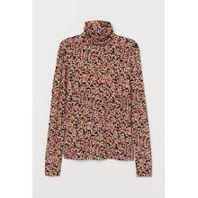 H & M - Rollkragenshirt aus Modal - Pink - Damen