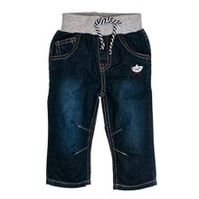SALT AND PEPPER Baby-Jungen B Jeans Pirat Kordelzug, Blau (Original 099), 86