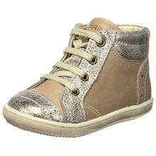 Primigi Baby Mädchen PBX 8018 Sneaker, Beige (Taupe/Taupe), 22 EU