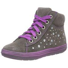 Richter Kinderschuhe ILVA, Mädchen Hohe Sneakers, Grau (Pebble 6610), 29 EU
