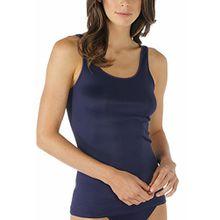 Mey Fashion Emotion Damen Tops breiter Träger Blau 52