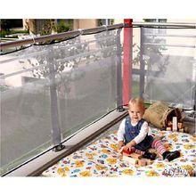 Balkonschutz Netz, 94 x 275 cm, weiß