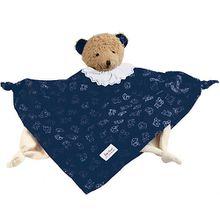 74261 Schmusetuch Bär, blau