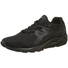 Asics Unisex-Kinder Gel-Kayano Trainer Evo C7A0N-9090 Sneaker, Schwarz (Black/Black 9090), 37.5 EU