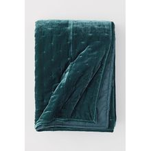 H & M - Tagesdecke aus Samt - Turquoise - Zuhause